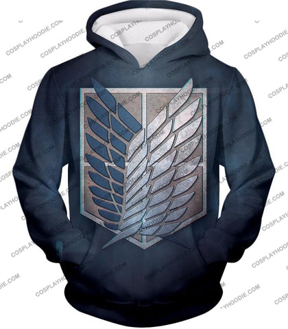 Attack On Titan Powerful Eren Yeager T-Shirt Aot048 Hoodie / Us Xxs (Asian Xs)