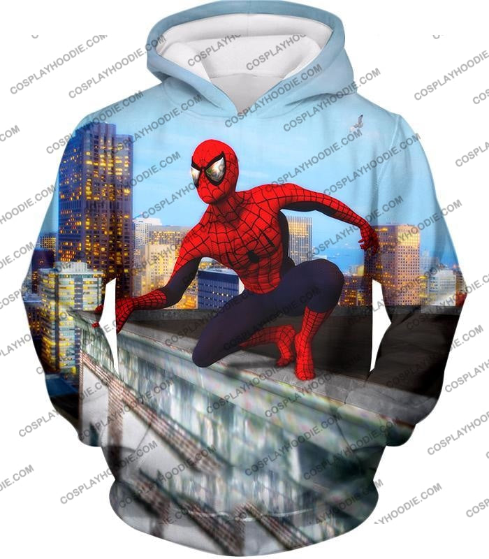 Amazing Spiderman Gameplay Action T-Shirt Sp048 Hoodie / Us Xxs (Asian Xs)