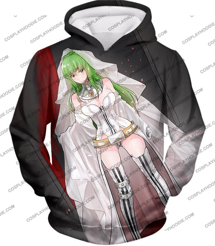 Super Sexy C.c. The Witch Of Britannia Amazing Anime Promo T-Shirt Cg048 Hoodie / Us Xxs (Asian Xs)