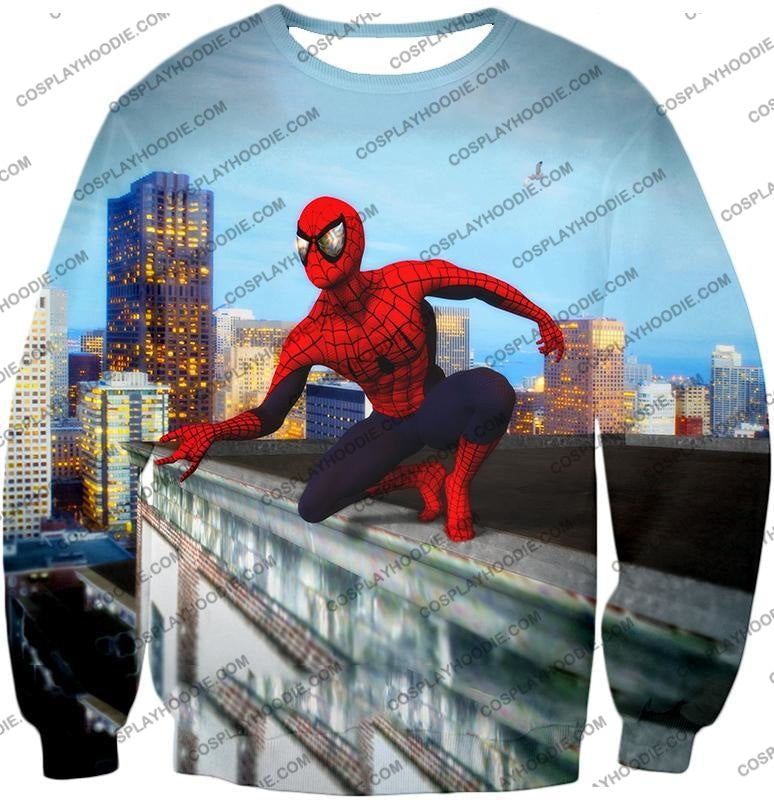 Amazing Spiderman Gameplay Action T-Shirt Sp048 Sweatshirt / Us Xxs (Asian Xs)