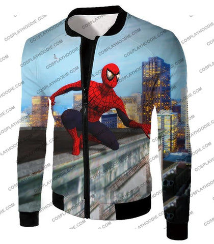 Image of Amazing Spiderman Gameplay Action T-Shirt Sp048 Jacket / Us Xxs (Asian Xs)
