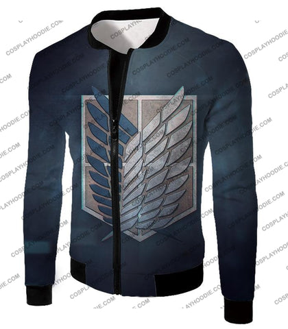 Attack On Titan Powerful Eren Yeager T-Shirt Aot048 Jacket / Us Xxs (Asian Xs)