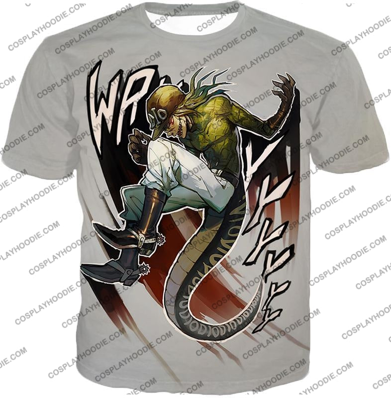 Diego Brando Stand Scary Monsters Anime Action T-Shirt Jo049 / Us Xxs (Asian Xs)