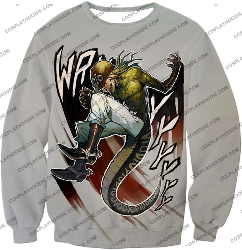 Diego Brando Stand Scary Monsters Anime Action T-Shirt Jo049 Sweatshirt / Us Xxs (Asian Xs)
