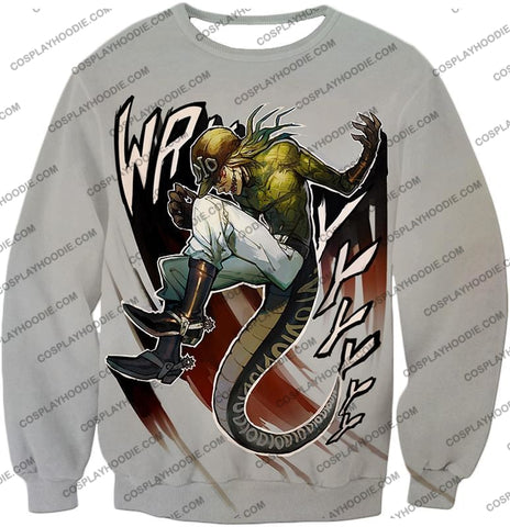 Image of Diego Brando Stand Scary Monsters Anime Action T-Shirt Jo049 Sweatshirt / Us Xxs (Asian Xs)