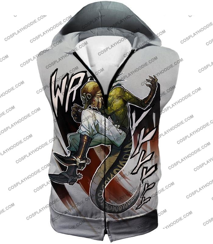 Diego Brando Stand Scary Monsters Anime Action T-Shirt Jo049 Hooded Tank Top / Us Xxs (Asian Xs)