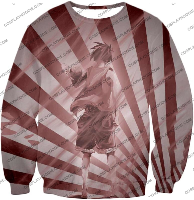 One Piece Cool Pirate Captain Straw Hat Luffy Dreams T-Shirt Op050 Sweatshirt / Us Xxs (Asian Xs)