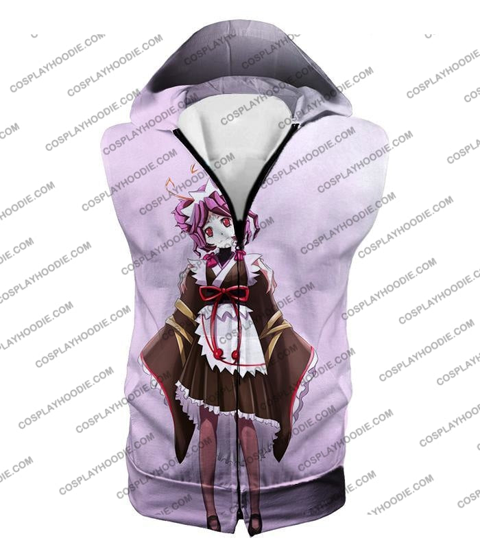 Overlord Super Cool Entoma The Spider-Human Battle Maid Promo White T-Shirt Ol053 Hooded Tank Top /