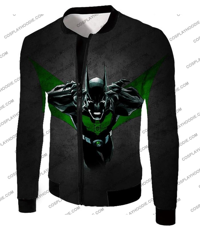 Cool Batman Merge Green Lantern Action Grey T-Shirt Bm057 Jacket / Us Xxs (Asian Xs)