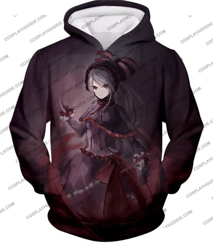 Image of Overlord Shalltear Bloodfallen The True Vampire Cool Anime Promo T-Shirt Ol059 Hoodie / Us Xxs