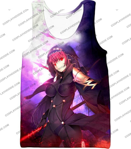 Image of Fate Stay Night Rider Class Grand Order Scathach Cool T-Shirt Fsn059 Tank Top / Us Xxs (Asian Xs)