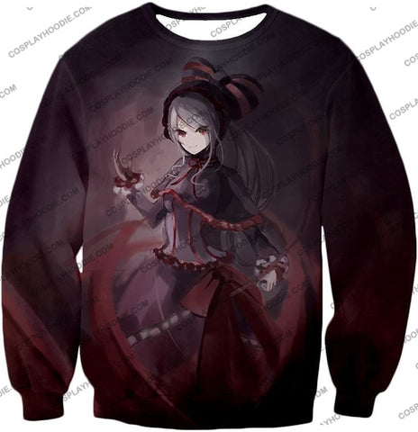 Image of Overlord Shalltear Bloodfallen The True Vampire Cool Anime Promo T-Shirt Ol059 Sweatshirt / Us Xxs