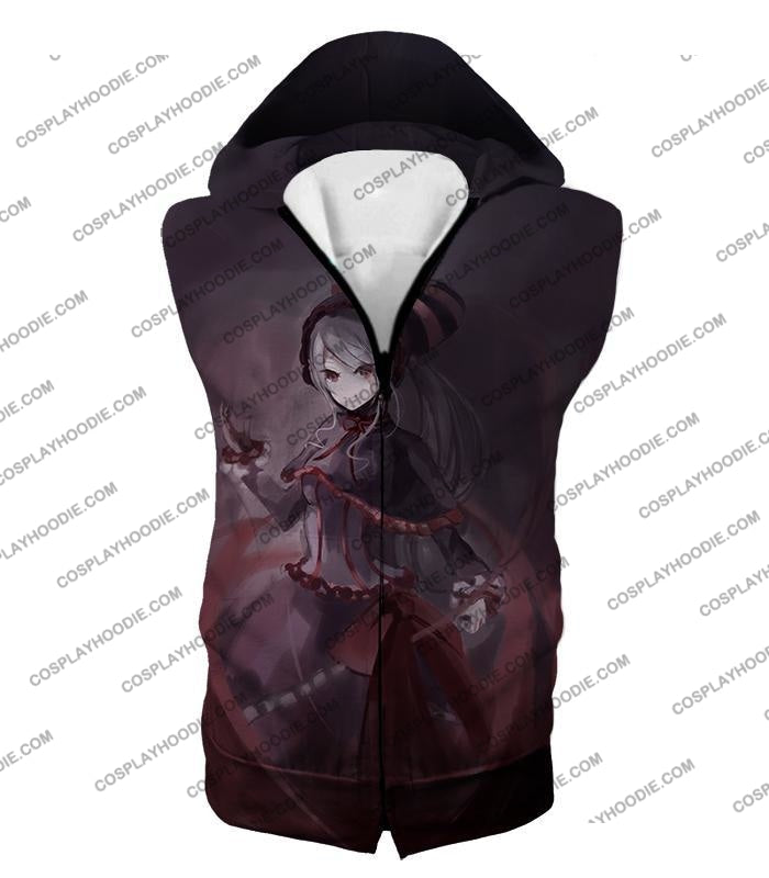 Overlord Shalltear Bloodfallen The True Vampire Cool Anime Promo T-Shirt Ol059 Hooded Tank Top / Us