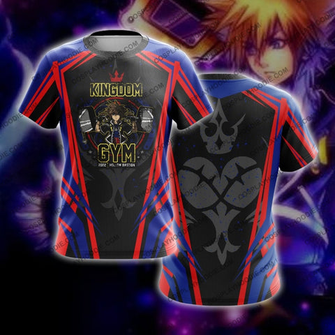 Kingdom Hearts Gym T-Shirt T-Shirt
