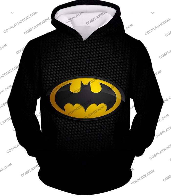 Amazing Promo Batman Logo Cool Black T-Shirt Bm006 Hoodie / Us Xxs (Asian Xs)