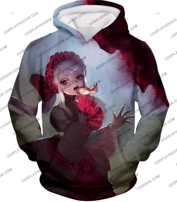 Overlord Cool Shalltear Bloodfallen The Bloody Valkyrie Awesome Anime T-Shirt Ol006 Hoodie / Us Xxs