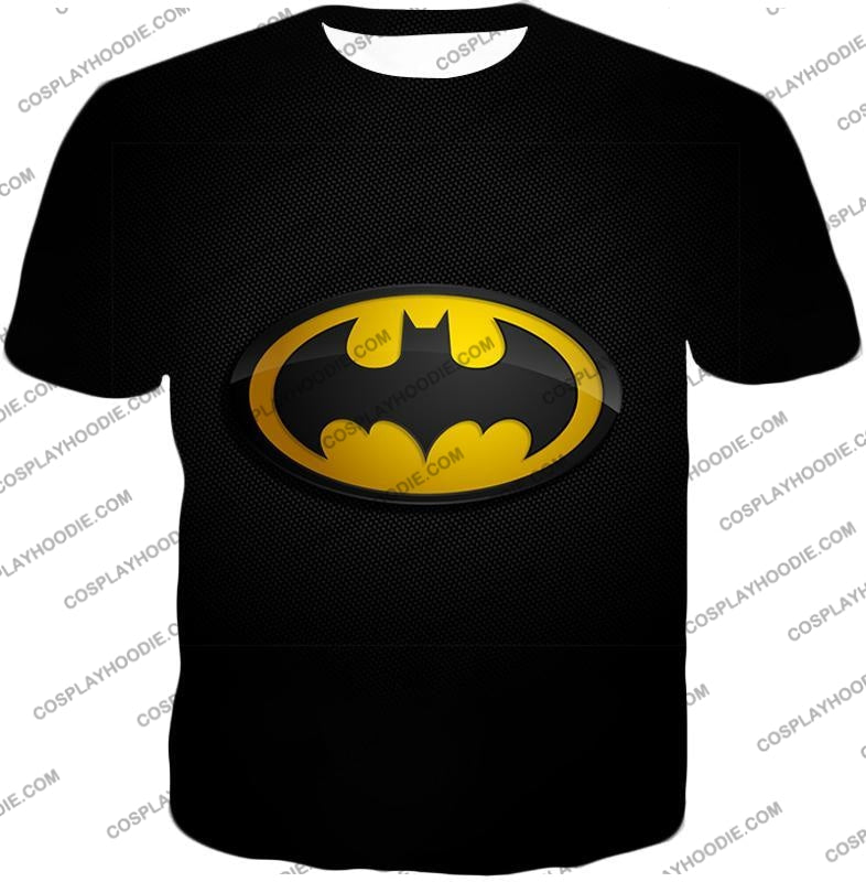 Amazing Promo Batman Logo Cool Black T-Shirt Bm006 / Us Xxs (Asian Xs)