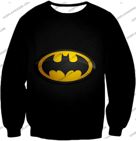 Image of Amazing Promo Batman Logo Cool Black T-Shirt Bm006 Sweatshirt / Us Xxs (Asian Xs)