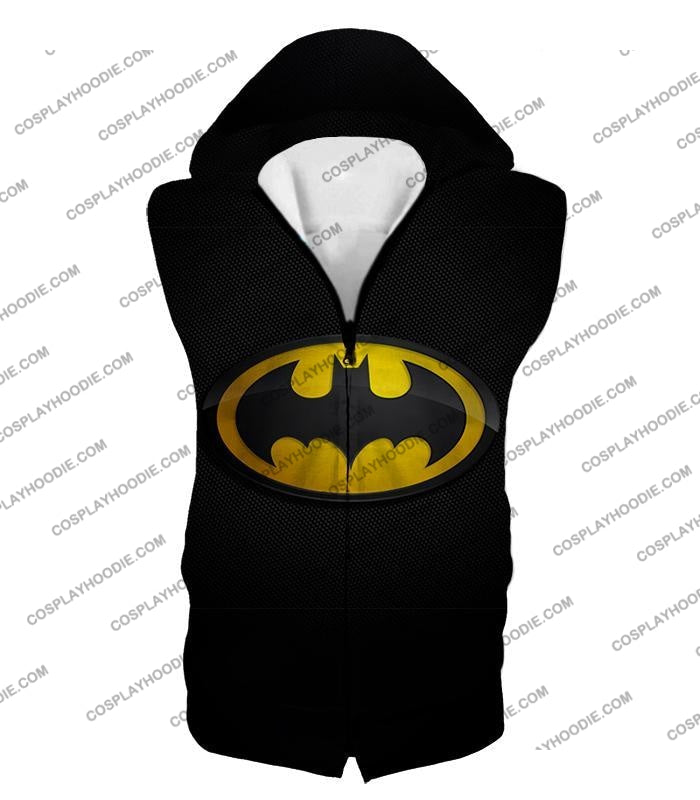 Amazing Promo Batman Logo Cool Black T-Shirt Bm006 Hooded Tank Top / Us Xxs (Asian Xs)
