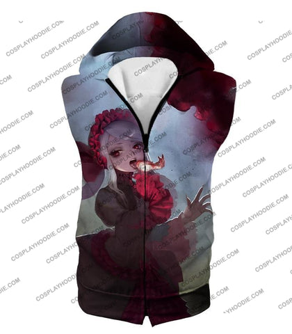Image of Overlord Cool Shalltear Bloodfallen The Bloody Valkyrie Awesome Anime T-Shirt Ol006 Hooded Tank Top
