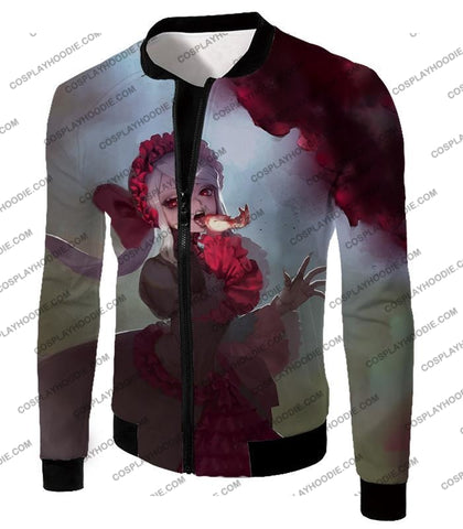 Image of Overlord Cool Shalltear Bloodfallen The Bloody Valkyrie Awesome Anime T-Shirt Ol006 Jacket / Us Xxs