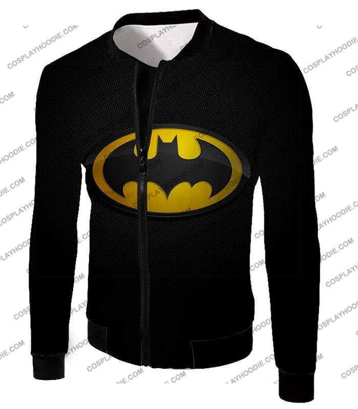 Amazing Promo Batman Logo Cool Black T-Shirt Bm006 Jacket / Us Xxs (Asian Xs)