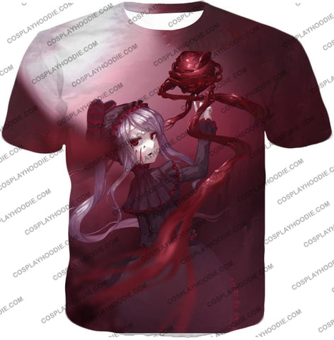 Image of Overlord The Bloody Valkyrie Shalltear Bloodfallen Ultimate Action Promo T-Shirt Ol061 / Us Xxs