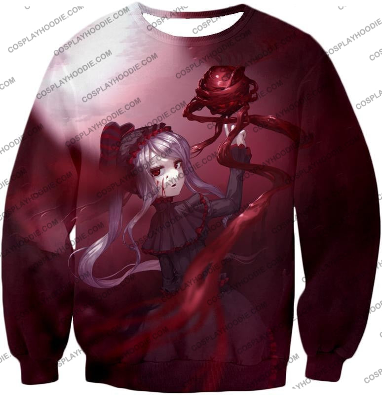 Overlord The Bloody Valkyrie Shalltear Bloodfallen Ultimate Action Promo T-Shirt Ol061 Sweatshirt /