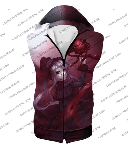 Image of Overlord The Bloody Valkyrie Shalltear Bloodfallen Ultimate Action Promo T-Shirt Ol061 Hooded Tank