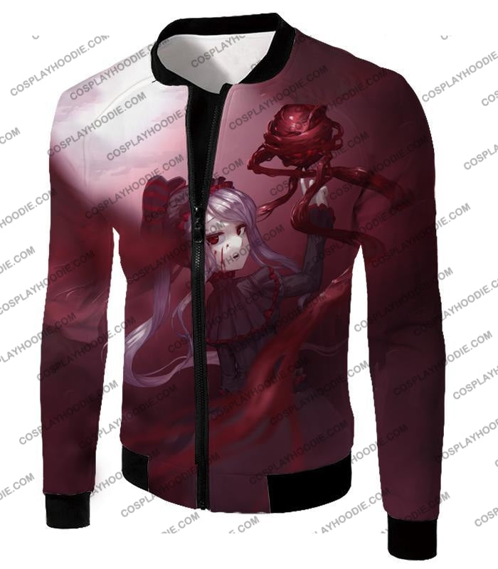 Overlord The Bloody Valkyrie Shalltear Bloodfallen Ultimate Action Promo T-Shirt Ol061 Jacket / Us
