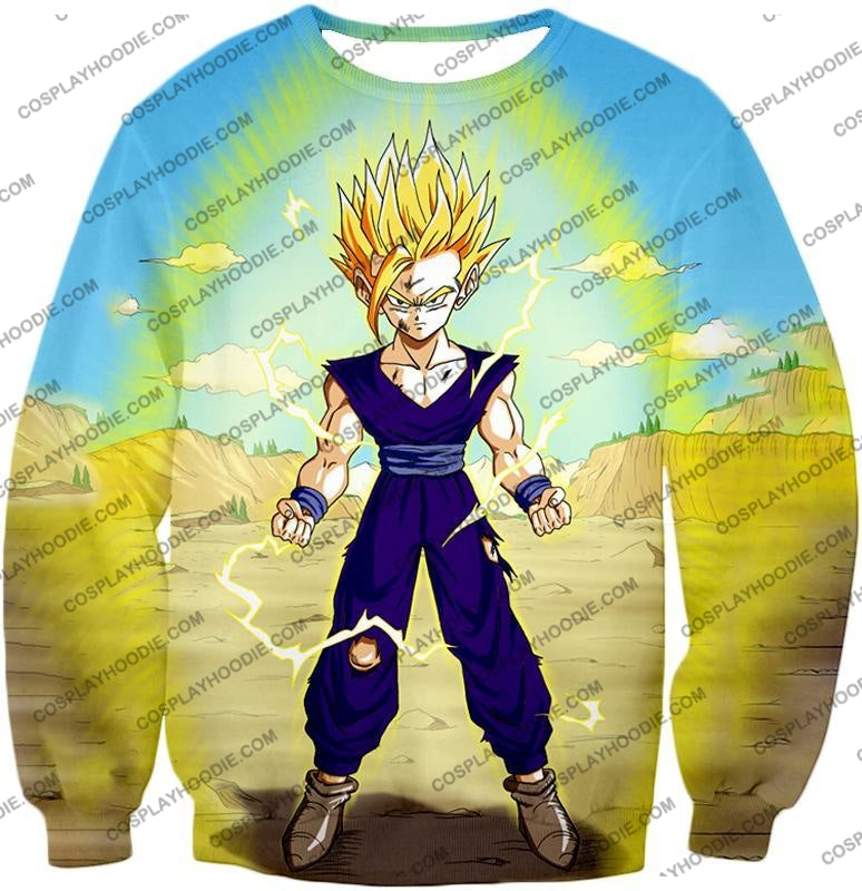 Dragon Ball Super Ultimate Anime Gohan Saiyan 2 Cell Saga Cool Graphic T-Shirt Dbs062 Sweatshirt /