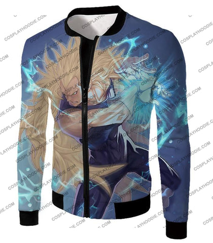 Image of Dragon Ball Super Cool Vegeta Saiyan 3 Awesome Graphic T-Shirt Dbs063 Jacket / Us Xxs (Asian Xs)