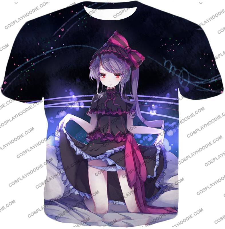 Overlord Cute Floor Guardian Shalltear Bloodfallen The True Vampire Seducing Anime Promo T-Shirt