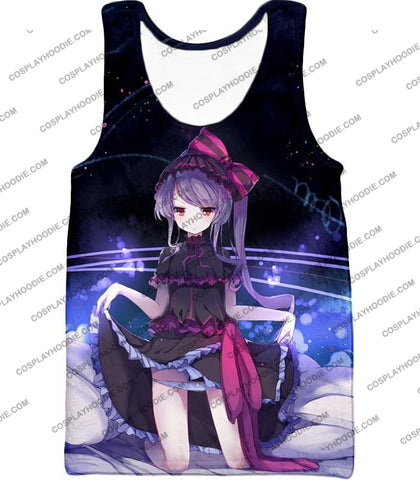 Image of Overlord Cute Floor Guardian Shalltear Bloodfallen The True Vampire Seducing Anime Promo T-Shirt