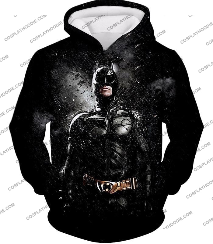 Graphic Promo Ultimate Action Hero Batman Cool Black T-Shirt Bm068 Hoodie / Us Xxs (Asian Xs)
