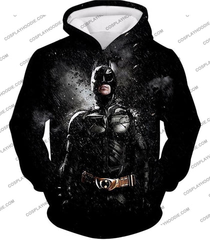 Image of Graphic Promo Ultimate Action Hero Batman Cool Black T-Shirt Bm068 Hoodie / Us Xxs (Asian Xs)