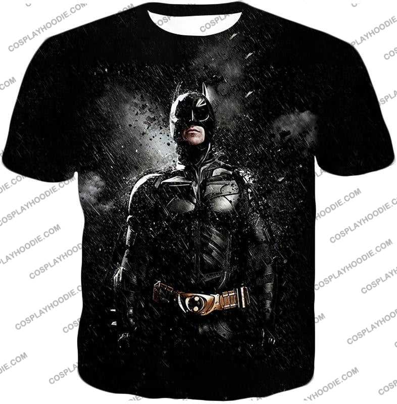 Graphic Promo Ultimate Action Hero Batman Cool Black T-Shirt Bm068 / Us Xxs (Asian Xs)