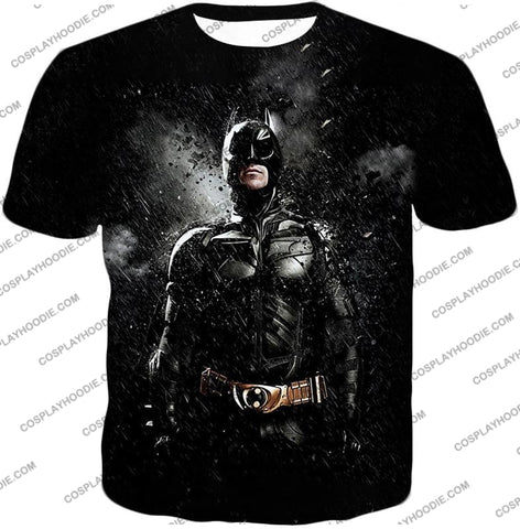 Image of Graphic Promo Ultimate Action Hero Batman Cool Black T-Shirt Bm068 / Us Xxs (Asian Xs)