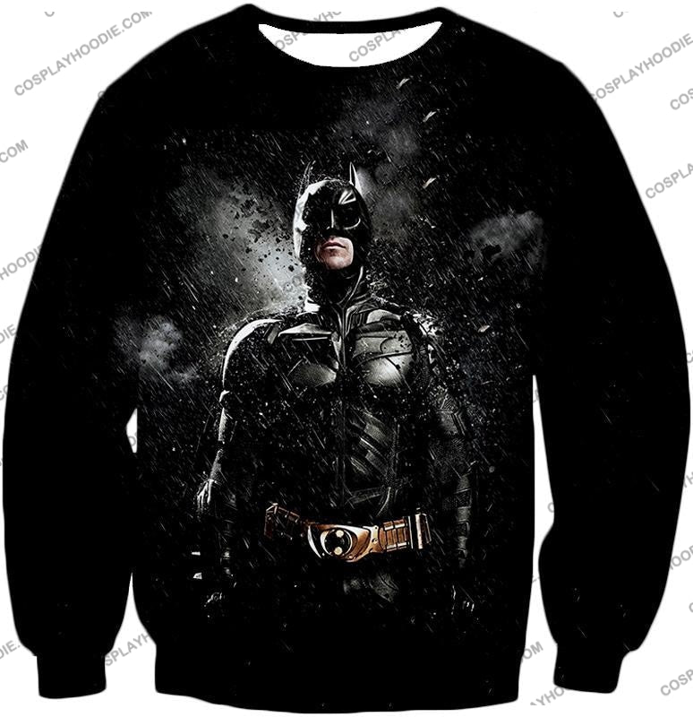 Graphic Promo Ultimate Action Hero Batman Cool Black T-Shirt Bm068 Sweatshirt / Us Xxs (Asian Xs)