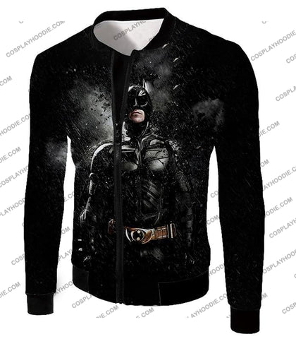 Image of Graphic Promo Ultimate Action Hero Batman Cool Black T-Shirt Bm068 Jacket / Us Xxs (Asian Xs)