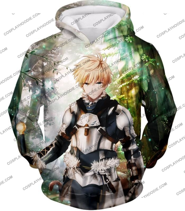 Fate Stay Night Saber Class Male King Arthur Awesome T-Shirt Fsn069 Hoodie / Us Xxs (Asian Xs)
