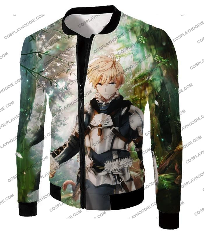 Fate Stay Night Saber Class Male King Arthur Awesome T-Shirt Fsn069 Jacket / Us Xxs (Asian Xs)