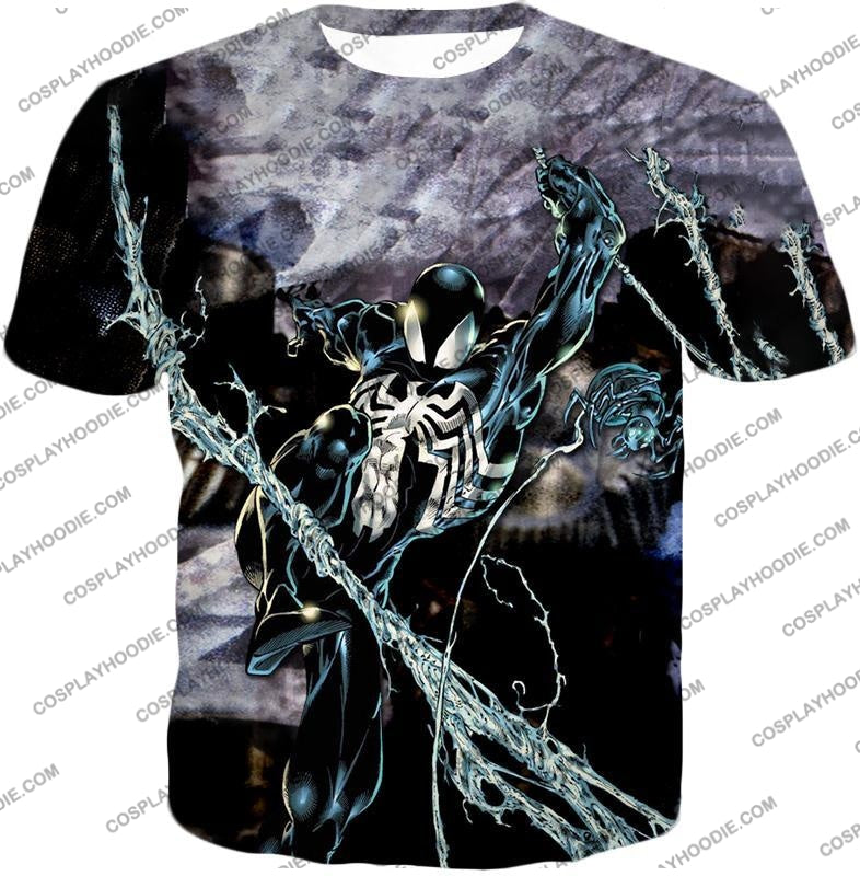 Incredible Animated Venom Cool Action T-Shirt Sp007 / Us Xxs (Asian Xs)