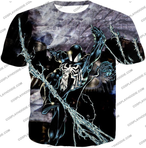 Image of Incredible Animated Venom Cool Action T-Shirt Sp007 / Us Xxs (Asian Xs)