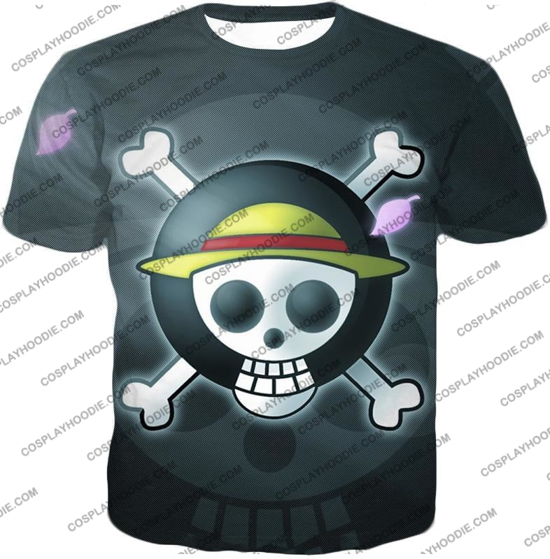 One Piece Super Cool Straw Hat Pirate Logo Promo T-Shirt Op007 / Us Xxs (Asian Xs)
