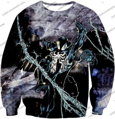 Image of Incredible Animated Venom Cool Action T-Shirt Sp007 Sweatshirt / Us Xxs (Asian Xs)
