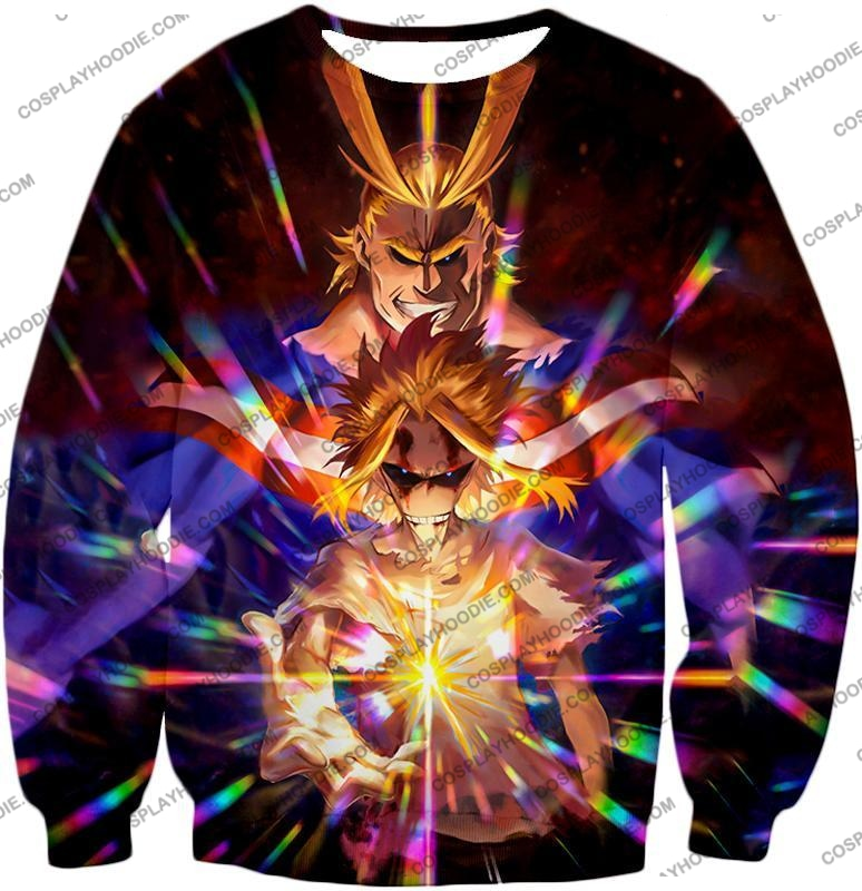 My Hero Academia Number One All Might For Holder Cool Anime Graphic T-Shirt Mha057 Sweatshirt / Us