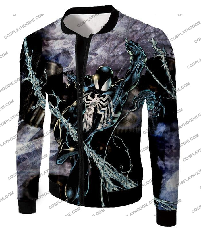 Incredible Animated Venom Cool Action T-Shirt Sp007 Jacket / Us Xxs (Asian Xs)