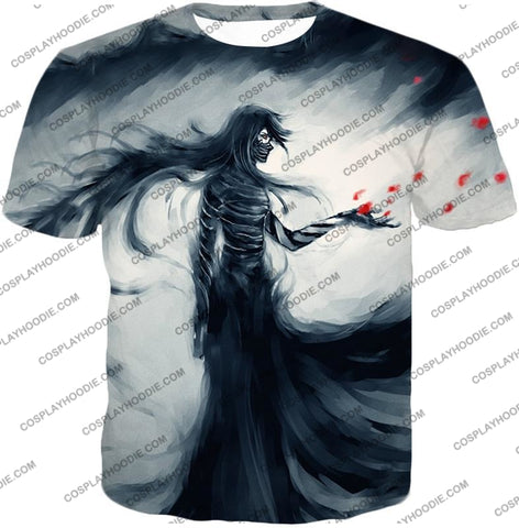 Image of Bleach Ichigos Amazing Bankai Technique Ichigo Mugetsu Form Ultimate Anime T-Shirt Bh070 / Us Xxs