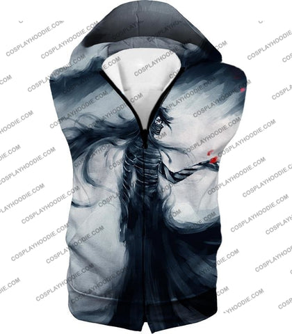 Image of Bleach Ichigos Amazing Bankai Technique Ichigo Mugetsu Form Ultimate Anime T-Shirt Bh070 Hooded Tank